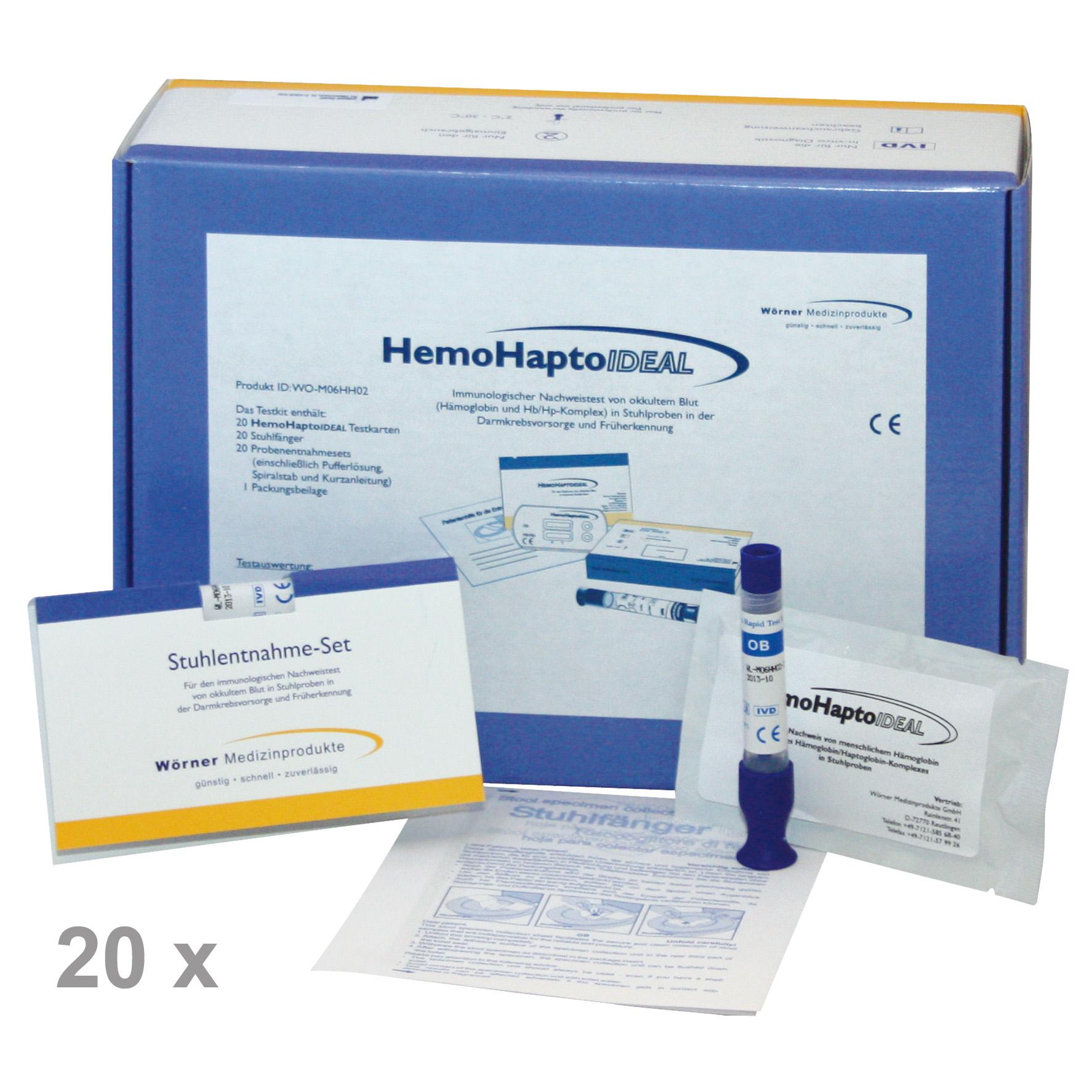 Hämoglobin / Haptoglobin-Ideal   Guajak-Harz Methode ...